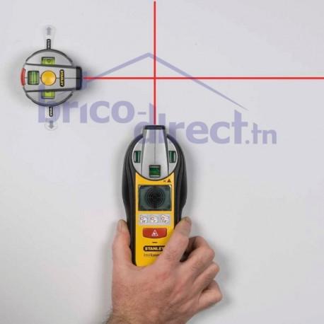 Détecteur de matériaux + Niveau laser INTELLILAZER STANLEY