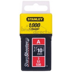 Agrafe 10mm type A STANLEY