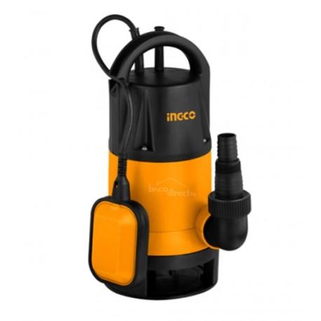 Pompe vide-caves eaux chargées 750W INGCO