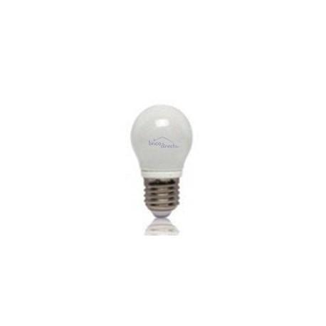 Ampoule LED JAUNE E27 minispherique 4W