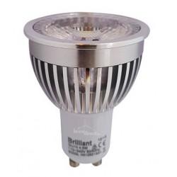 Ampoule LED JAUNE GU10 equivalent 50W