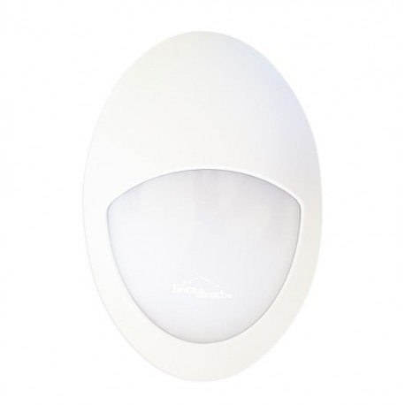 Applique ovale YSAN 4S étanche LED 8W