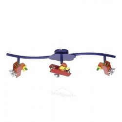 Reglette Enfants 3 spots AIRPLANE
