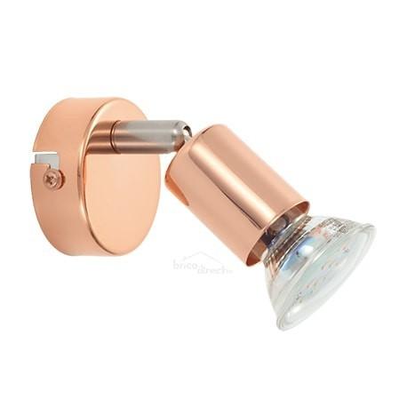Spot applique bronze LED