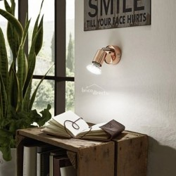 Spot applique bronze LED