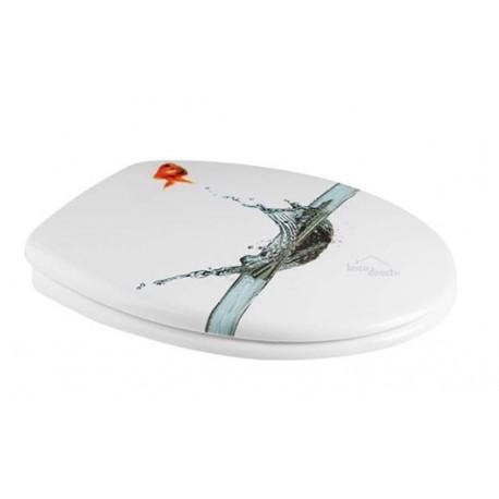 Abattant de toilette Décor Poissons 4402900