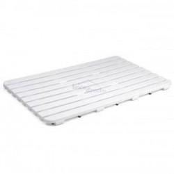 Caillebotis de douche Blanc 50x80 5530101
