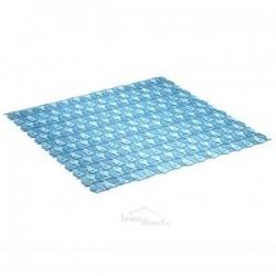 Tapis de bain 54x54 Bleu