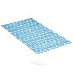 Tapis de bain 70x36 Bleu