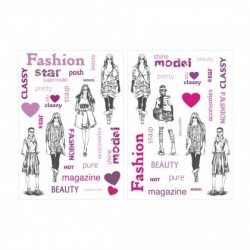 Sticker mural MODELS XL