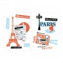 Sticker mural FRENCH TOUCH XL