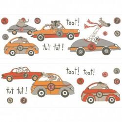 Sticker mural AUTO M