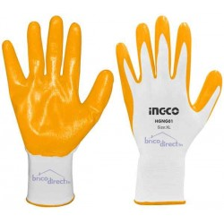 Gants de protection en Nitrile INGCO