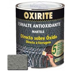 Peinture pour Métaux Argent effet martelé OXIRITE