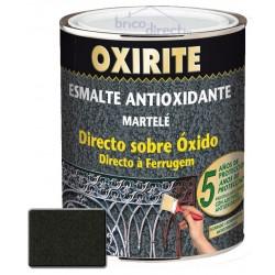 Peinture pour Métaux Noir effet martelé 750ML OXIRITE