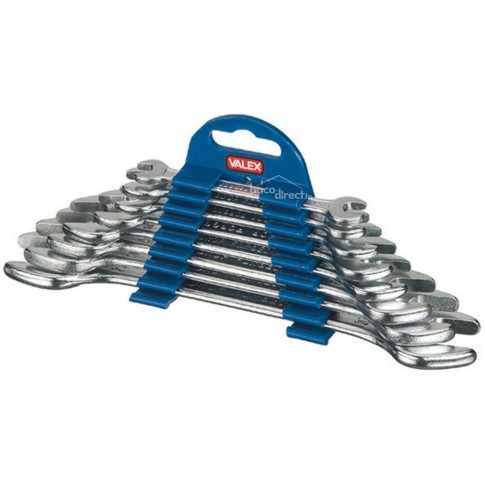 Jeu de 8 clés à fourche VALEX 1460794