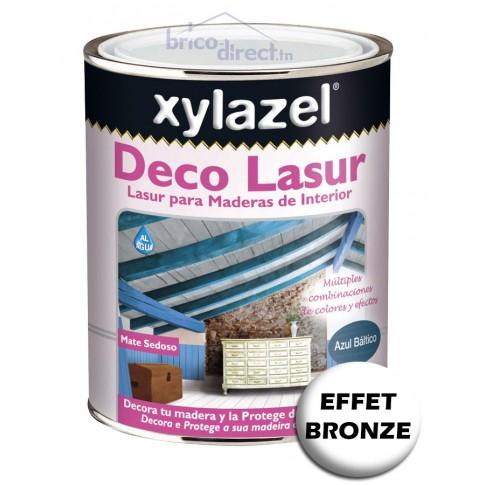 Effet Bronze pour Lasure Décorative bois