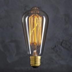 Ampoule Retro Vintage ST64 40W