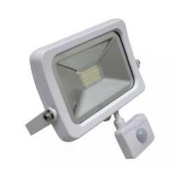 Projecteur blanc étanche LED  30W avec détecteur