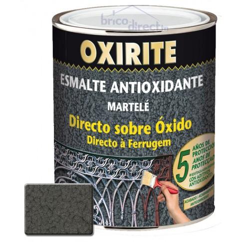 Peinture pour Métaux Gris effet martelé OXIRITE