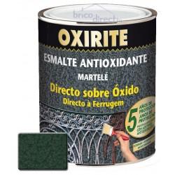 Peinture pour Métaux Vert Foncé effet martelé OXIRITE