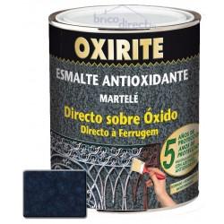 Peinture pour Métaux Bleu Foncé effet martelé OXIRITE
