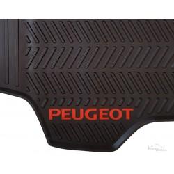 Jeu de Tapis originaux Peugeot301/Citroën C-Elysee  (Noir/Rouge)