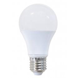 Ampoule LED sphérique opaque JAUNE E27 5W