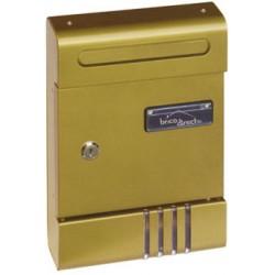 Boîte à lettre extérieure bronze LIBERTY