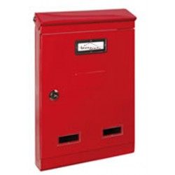Boîte à lettre extérieure rouge EVOLUTION