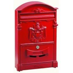 Boîte à lettre extérieure Rouge OLD CENTURY