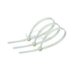 Pack 100 Attaches de serrage en plastique 5x350mm