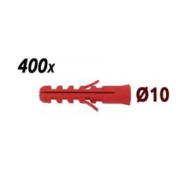 Pack 400 chevilles 10mm