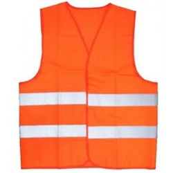 Gilet Réflechissant XXL Orange