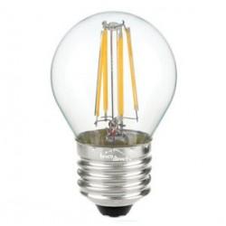 Ampoule LED minisphérique à filaments E27 4W BLANC