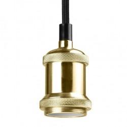 Douille vintage doré avec Câble 120cm EKOLED