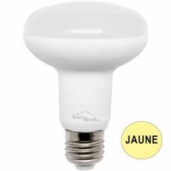 Ampoule réflecteur R80 LED 13W JAUNE E27