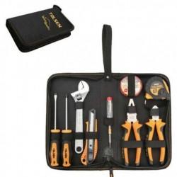 Kit de Bricolage 9 outils en sacoche TOLSEN