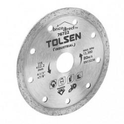 Disque diamant Continu 115mm spécial Faïence TOLSEN