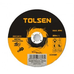Disque de coupe 125mm TOLSEN