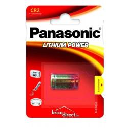 Pile spéciale CR2 Lithium PANASONIC