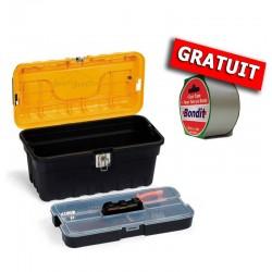 """PACK Caisse à outils STRONGO 16"""" avec Scoth Américain GRATUIT"""