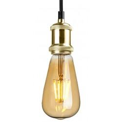 PACK Douille dorée avec Ampoule Vintage LED