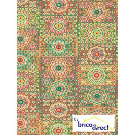 Papier Decopatch (pochette de 3 feuilles)- Réf 609