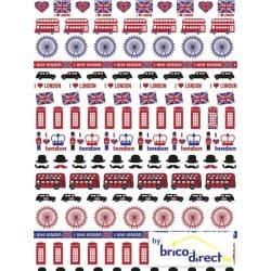 Papier Decopatch (pochette de 3 feuilles)- Réf 641