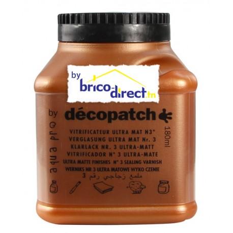 Vitrificateur Mat spécial Décopatch 180ml