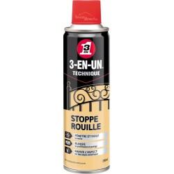 Aérosol stop-rouille et corrosion 3EN1
