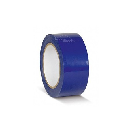 Adhésif de Marquage au sol Bleu 50mmx50M