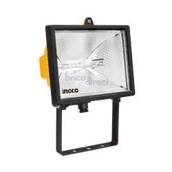 Projecteur halogène avec lampe 500W INGCO