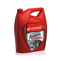 Lubrifiant 25W50 5L CEPSA